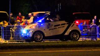 SMART CAR POLICE CAR PINELLAS PARK POLIC DEPARTMENT IN FLORIDA