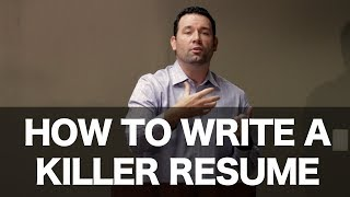 """""""Get Hired"""" - How to Write a Killer Resume"""