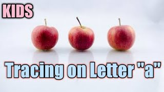 """//How to tracing letter """"a""""//"""