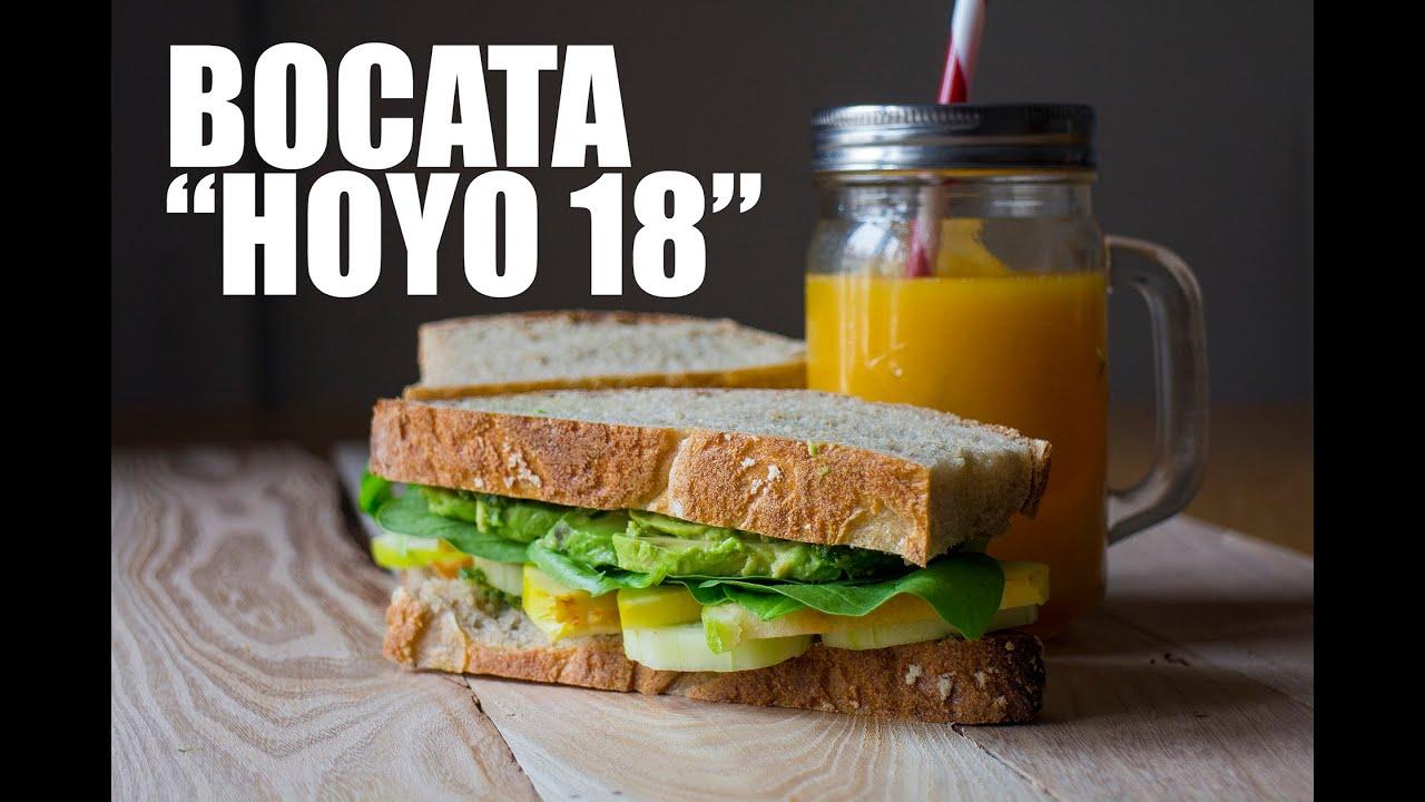 """COMO HACER UN BOCADILLO """"HOYO 18"""" SALUDABLE Y FITNESS GRABADO CON UNA GO PRO"""