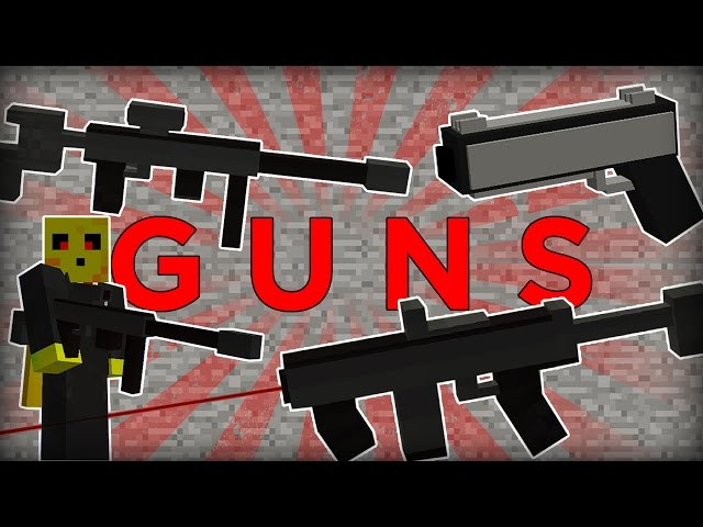 Working GUNS in Minecraft one command block! - Cimap
