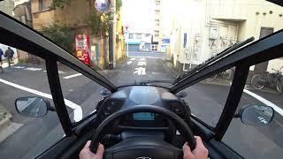 Смотреть онлайн Как выглядит автомобиль на одного человека (Toyota i-Road)