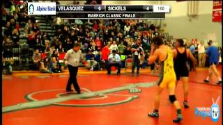 Wrestling: Finals of Warriors Classic