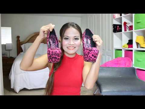 Review of Dollhouse Platfrom High Heels, Breckelles Heels, & Qupid Platform Heels