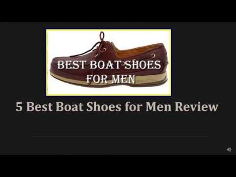 5 Best Boat Shoes for Men 2017 Review