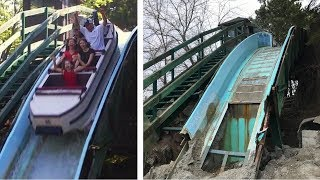 Abandoned Theme Park Before & After