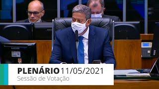 Plenário - Sessão para a votação de propostas legislativas - 11/05/2021 15:00