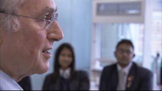 Richard Dawkins Teaching Evolution to Religious Students