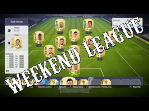 FIFA 18   FUT 18 - Zápasy o Weekend League-Všechny Góly!   CZ/SK