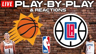 Phoenix Suns vs Los Angeles Clippers   Live Play-By-Play & Reactions