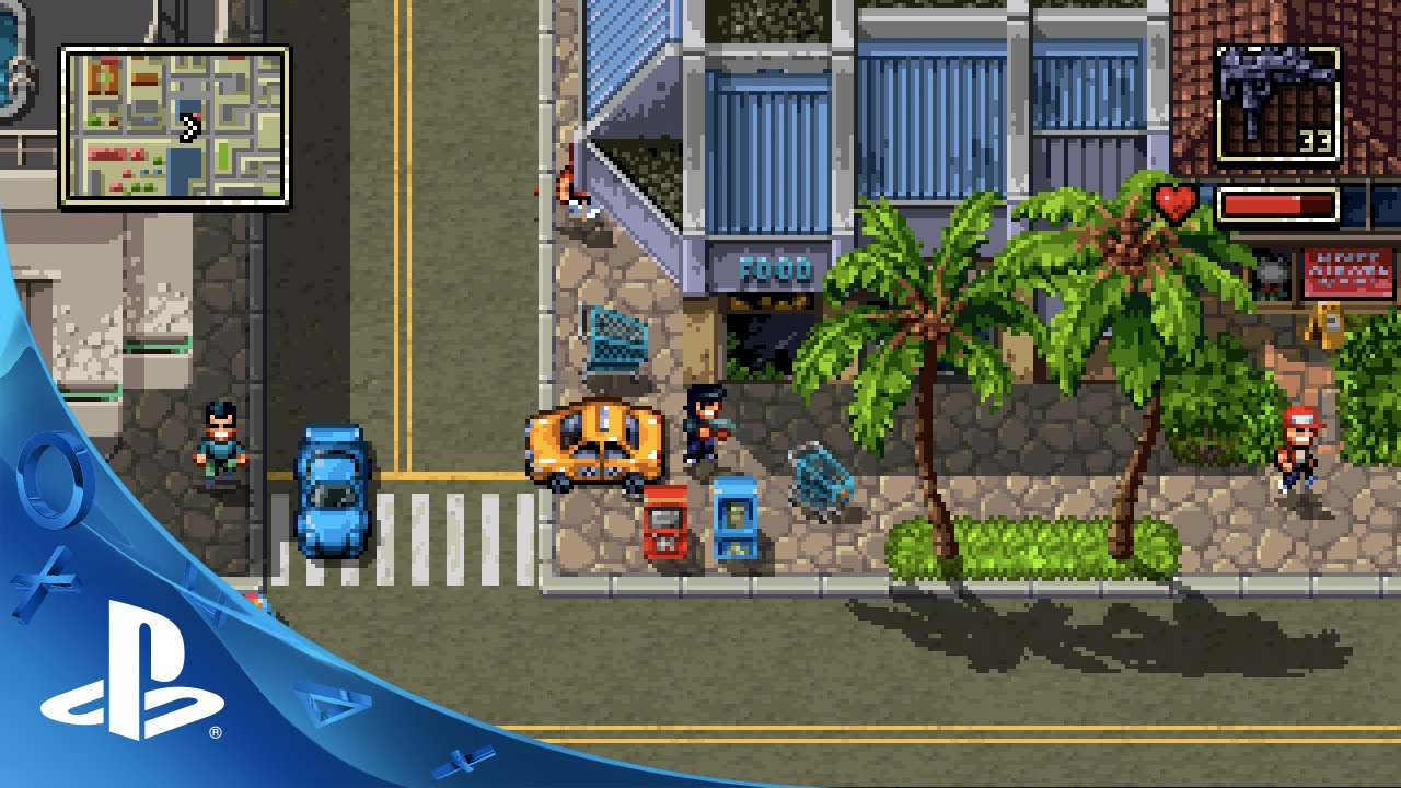 La continuación de Retro City Rampage, Shakedown Hawaii, llegará a PS Vita y PS4