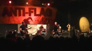 Anti-Flag - Death of the Nation/The Economy is Suffering...Let It Die @Punk Rock Holiday 1.2.