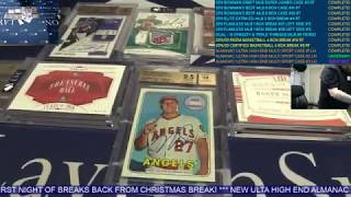 The Sports Card Almanac: Ultra High End Multi Sport – 10 Box Case Break #2