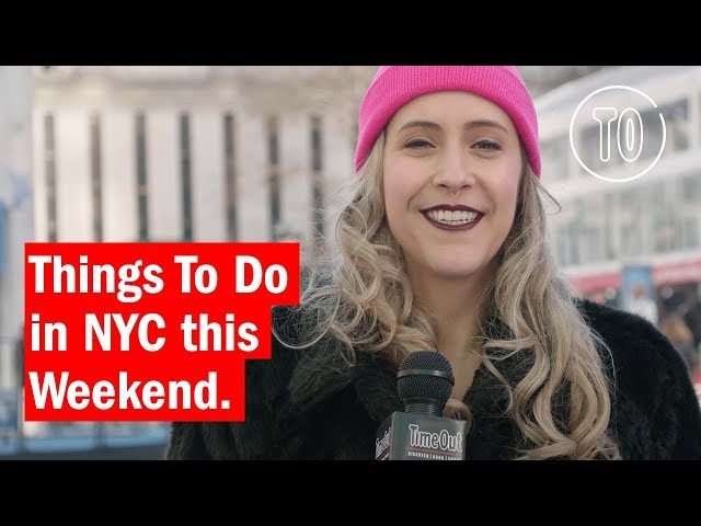 Best things to do in nyc this weekend from events to concerts for Things to do in new york this weekend