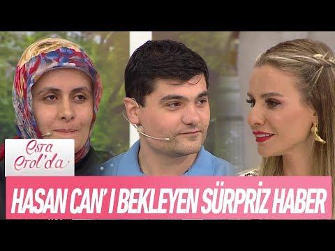 Hasan Can'ı bekleyen sürpriz haber! - Esra Erol'da 29 Mayıs 2018