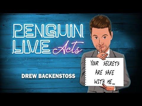 Penguin Live Lecture - Drew Backenstoss LIVE ACT