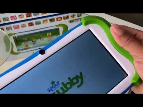 """Sprout Channel Cubby 7"""" Tablet 16gb Unboxing"""