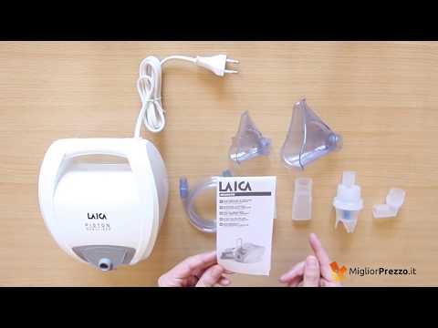 Aerosol a pistone Laica NE2003 Video Recensione