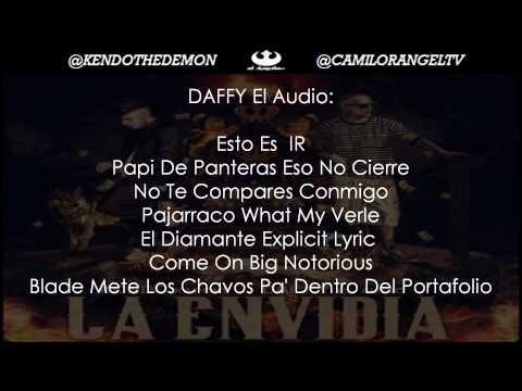 LA ENVIDIA - KENDO KAPONI FT DAFFY EL AUDIO