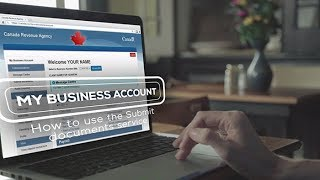 My Business Account – How to use the Submit documents service