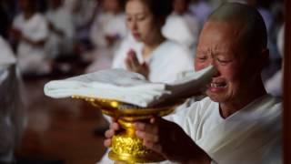 พิธีบวชคณะแม่ชีชาวจีน รุ่นที่ ๗ ประจำปี พ.ศ. ๒๕๖๐