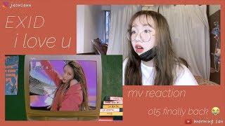 EXID 이엑스아이디 - 알러뷰 (I LOVE YOU) MV REACTION