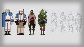 Photoshop Tutorial: Designing a Cast of Characters in Photoshop