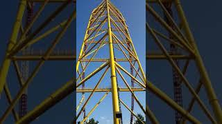 Cedar Point Park - Crazy roller coaster 1