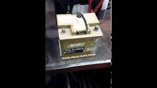 AutoPart Galaxe Gold - проверка нового аккамулятора.