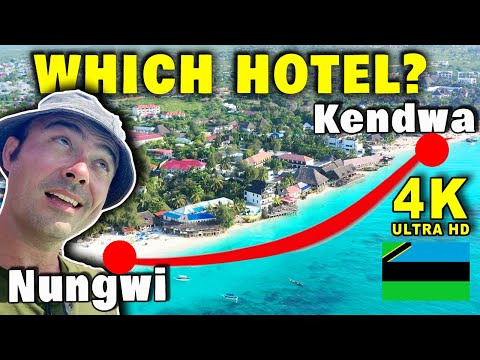 Hotels in Zanzibar Near the Beach Nungwi to Kendwa