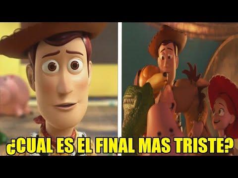 ¿Cual es EL FINAL MAS TRISTE de TOY STORY? ¿TOY STORY 3 o TOY STORY 4?