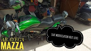 DOMINAR 400 MODIFICATION || SEAT MODIFICATION