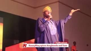 Kennyblaq Spices up fans @LaffMattazz In Osogbo (Nigerian Comedy)