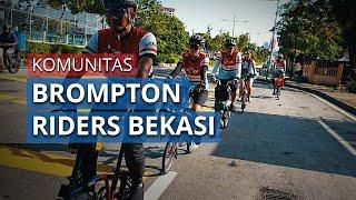 Sejarah Berdirinya Komunitas Broder Mengakomodir Pesepeda Brompton di Bekasi
