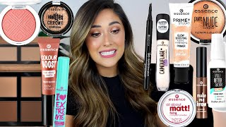 FULL FACE OF ESSENCE MAKEUP | Hits And A LOT Of Misses