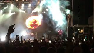 Travis Scott concert at Buffalo, Canal Side