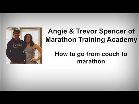The Beginner's Guide to Running Your First Marathon with Angie and Trevor Spencer