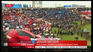 2016 JUMHURI DAY FETE: - President Uhuru offers special prayer to his officers who died in Naivasha