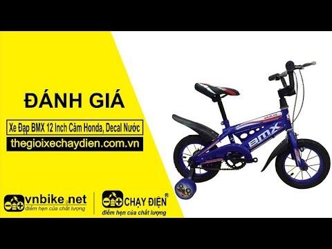 Đánh giá xe Đạp BMX 12 Inch Căm Honda, Decal Nước