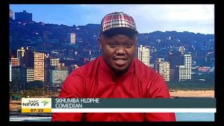 Comedian Skhumba Set To Leave Durban In Stitches
