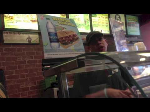 Rejection 51 - Make My Own Sandwich at Subway