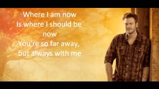 Do You Remember - Blake Shelton (Lyrics)