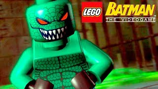 CROCODILO NO ESGOTO - LEGO Batman The Videogame #8
