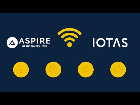 IOTAS Smart Home Technology at Aspire Discovery Park