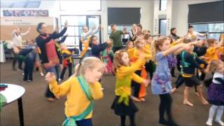Bollywood Parent Child Day At Beaumaris Primary