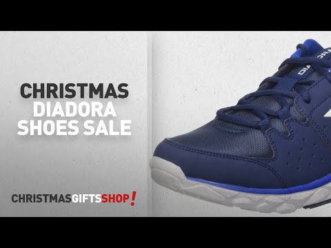 Christmas Diadora Shoes Sale [2017]: Diadora Men's Hawk 8 Competition Running Shoes, Blue (Blu