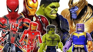 Avengers Minimates Go~! Iron Man, Hulk, Captain America! Spider-Man, Thanos! Thor