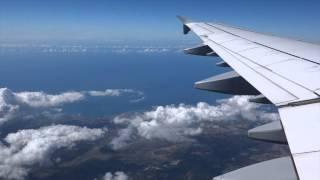 preview picture of video 'Lufthansa A321 Rome to Munich full flight'