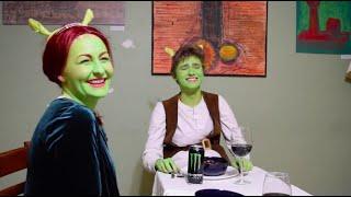 Shrek 2 Dinner Scene Remake - Shrek 2 Retold