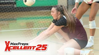 MaxPreps Top 25 Girls Volleyball Rankings